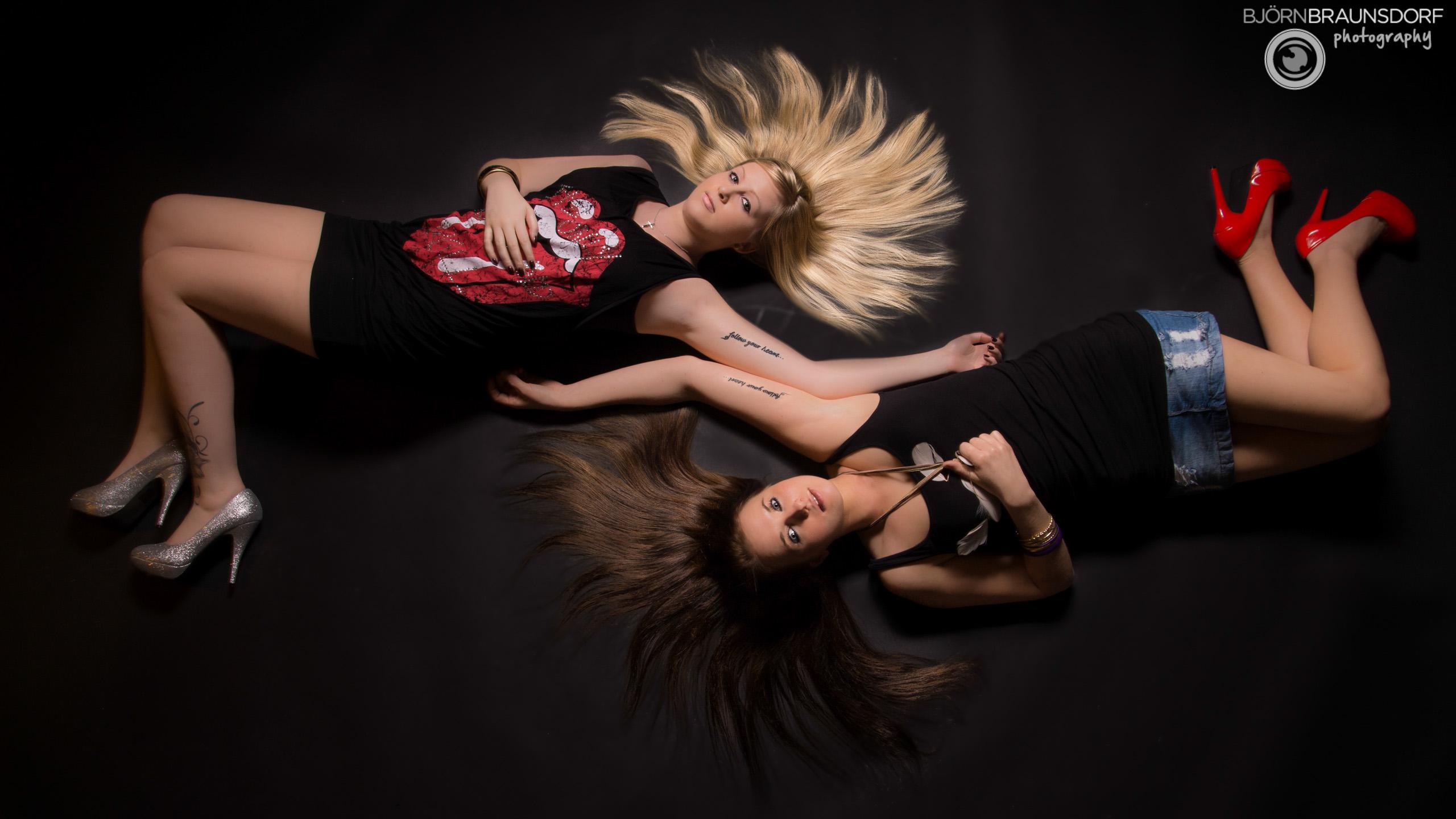 Erika und Selina